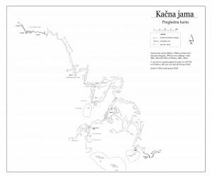 Pregledna karta Kacne jame 2013
